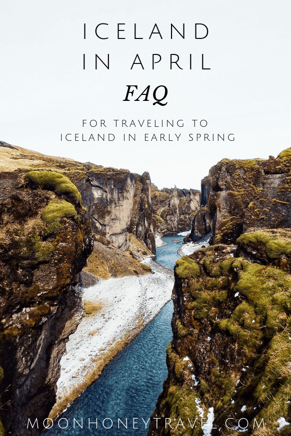 Iceland in April - FAQ for traveling to Iceland in early Spring