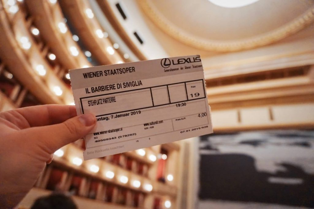 How to Get Vienna State Opera Standing Tickets, Austria