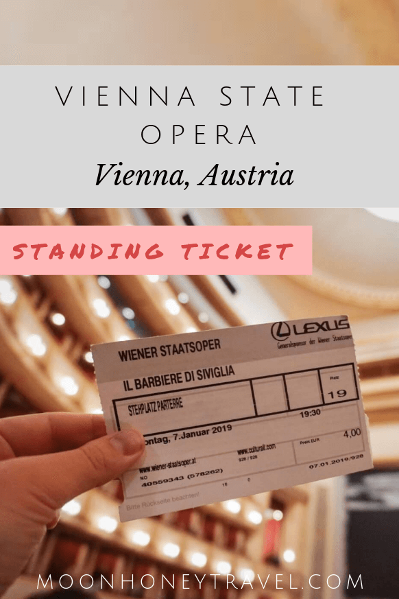 How to get Vienna State Opera Standing Room Tickets, Austria