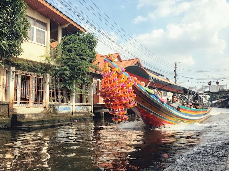 Klong Bangkok Yai canal, Bangkok, Thailand | Moon & Honey Travel