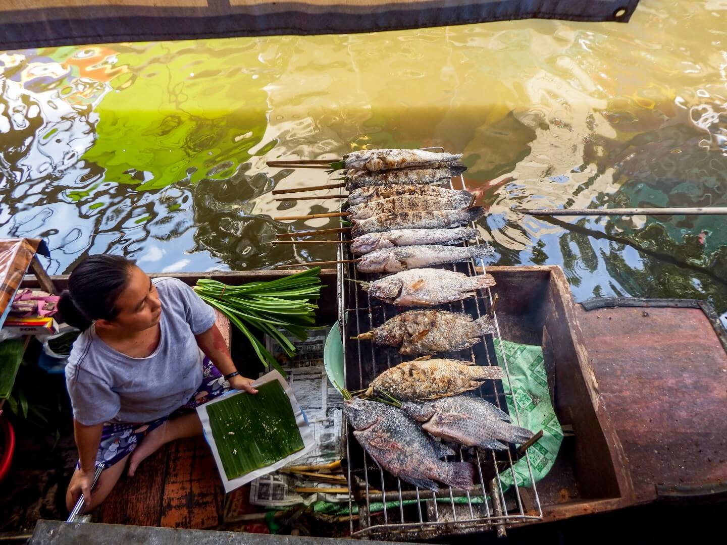 Taling Chan Floating Market, Bangkok to Chiang Mai Itinerary | Moon & Honey Travel