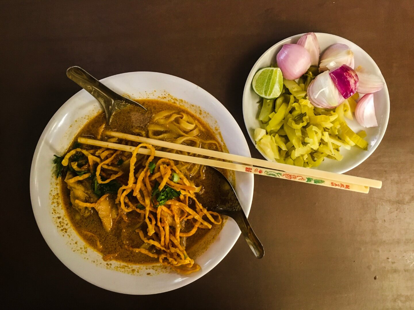 Khao Soi at BannKhum Cafe, Chiang Mai | Moon & Honey Travel