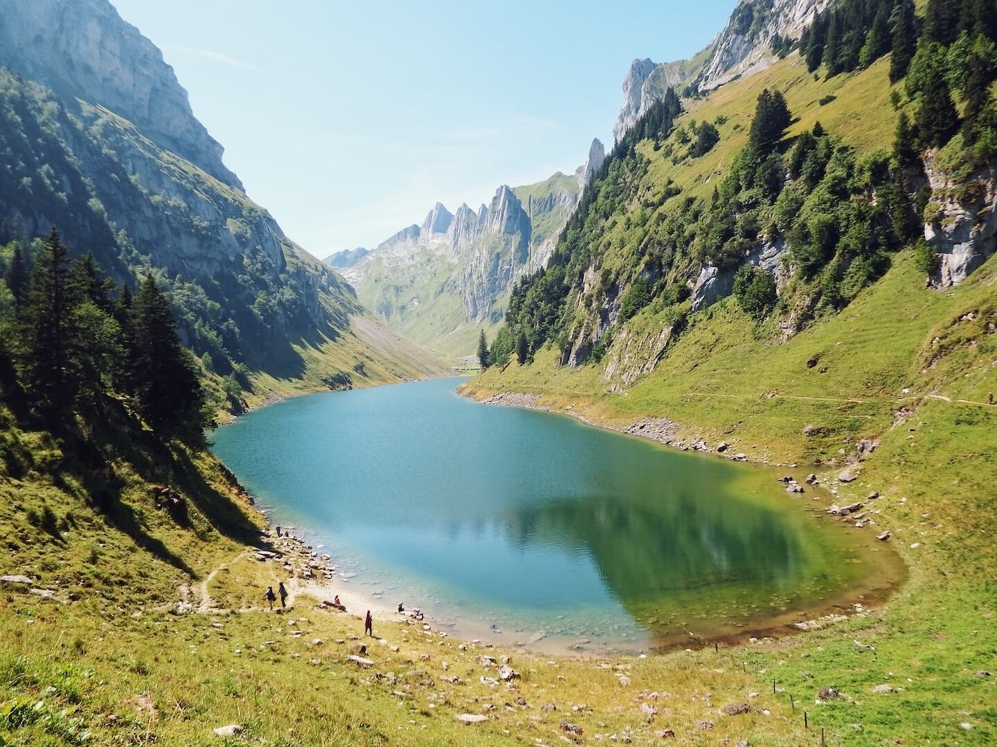 Fählensee, Culinary Hiking Trails in Switzerland | Moon & Honey Travel