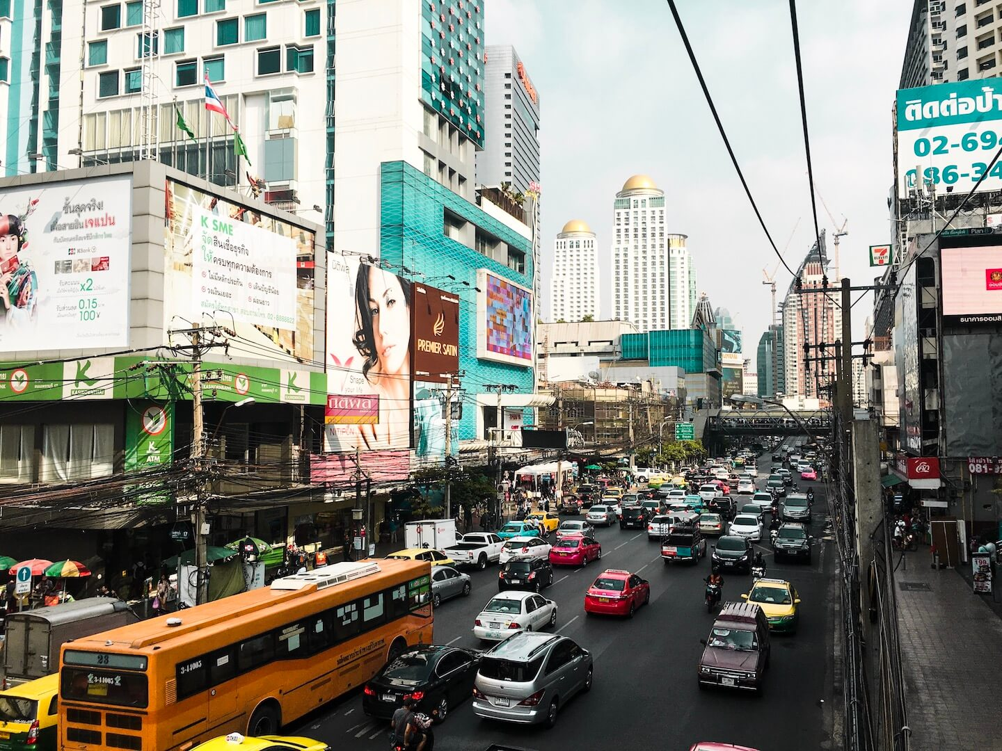 Bangkok Streets, Thailand | Moon & Honey Travel