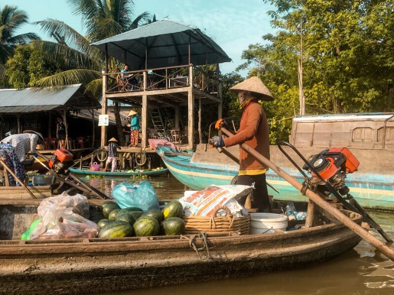 Phong Dien Floating Market, Mekong Delta | Moon & Honey Travel