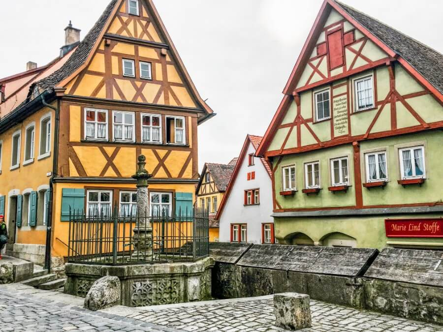 Rothenburg ob der Tauber, Franconia, Germany | Getting a Visa in Germany | Moon & Honey Travel