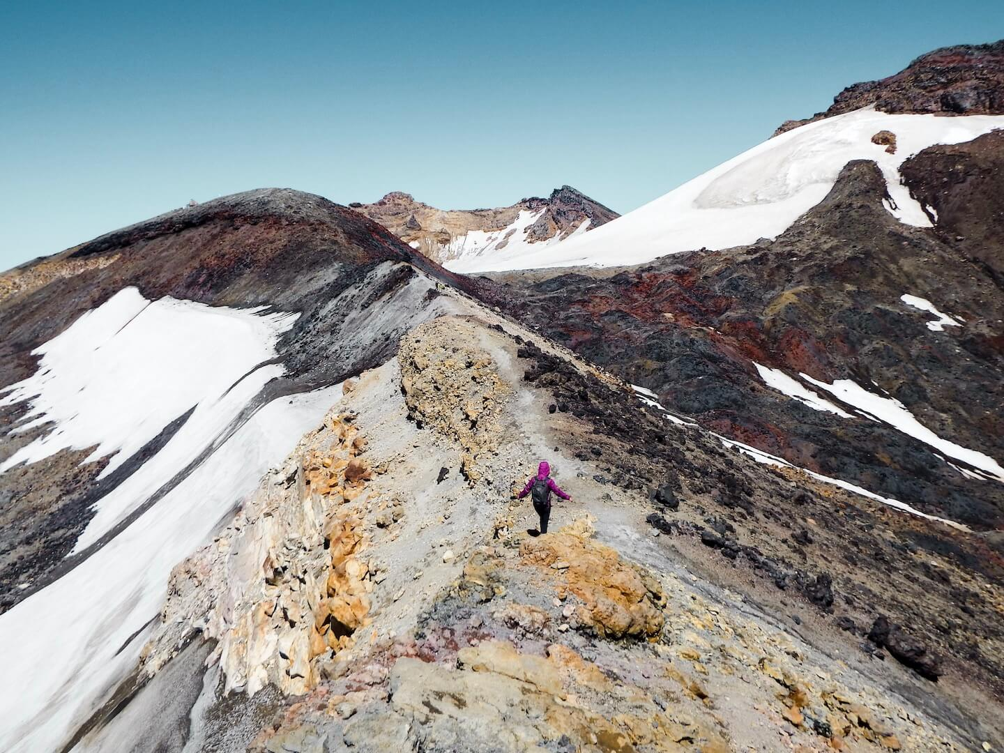 Hiking to Mount Ruapehu's Crater Lake without a guide, New Zealand | Moon & Honey Travel