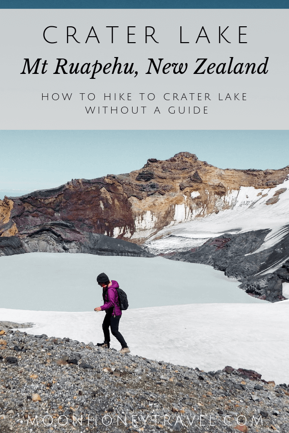 How to Hike to Mt Ruapehu Crater Lake Without a Guide, New Zealand North Island