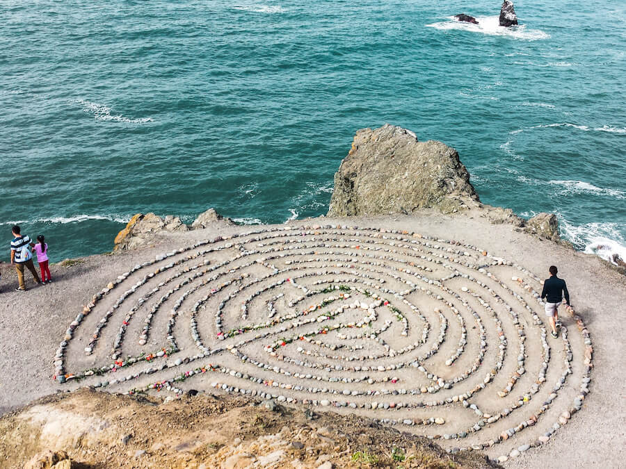 Lands End Labyrinth, San Francisco | Moon & Honey Travel