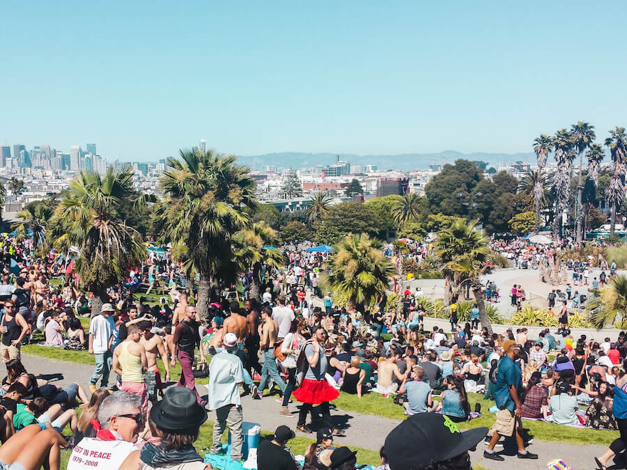Dolores Park, San Francisco | Moon & Honey Travel