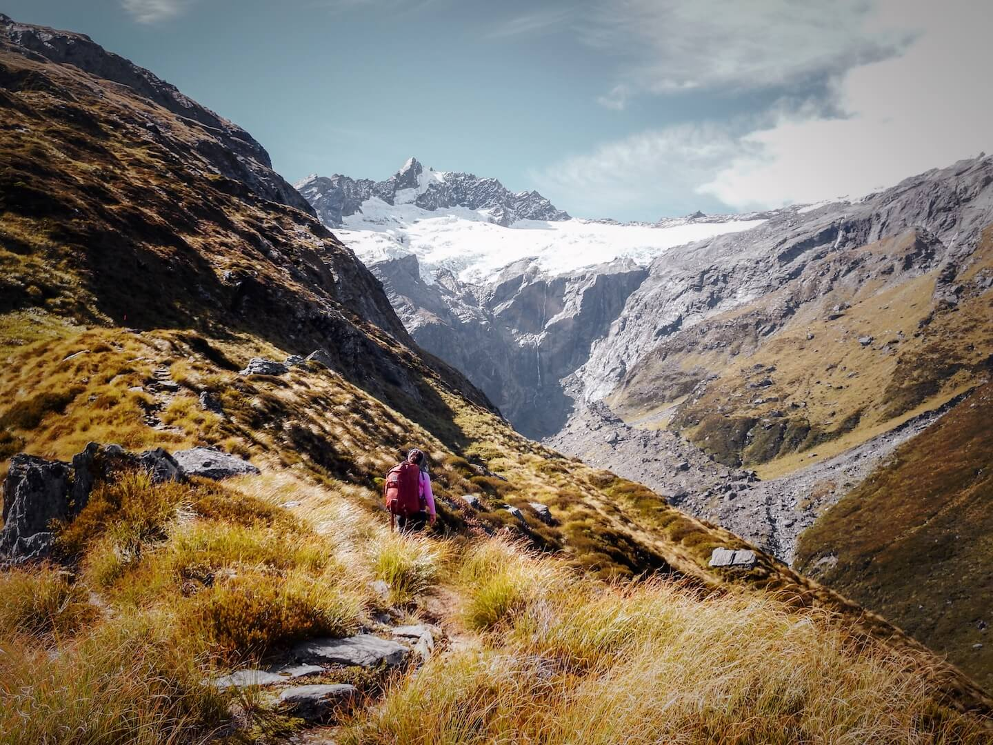 New Zealand Best Hikes - Mount Aspiring National Park, French Ridge Hut Hike