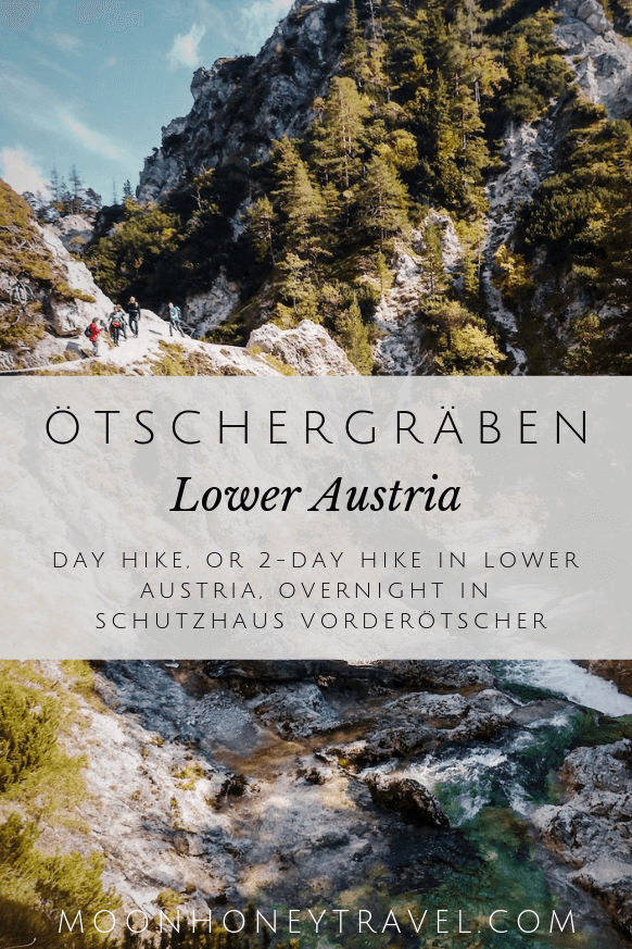 Ötschergräben, Grand Canyon of Austria, Day Hike or 2 -Day Hike in Lower Austria