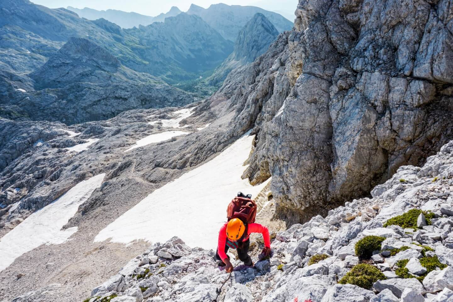 Hiking to the summit of Kanjavec, Julian Alps, Triglav National Park, Slovenia | Moon & Honey Travel