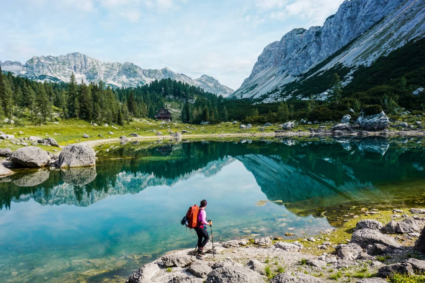 Koča pri Triglavskih jezerih, Triglav National Park, Seven Lakes Valley, Best Hiking Trails in Slovenia