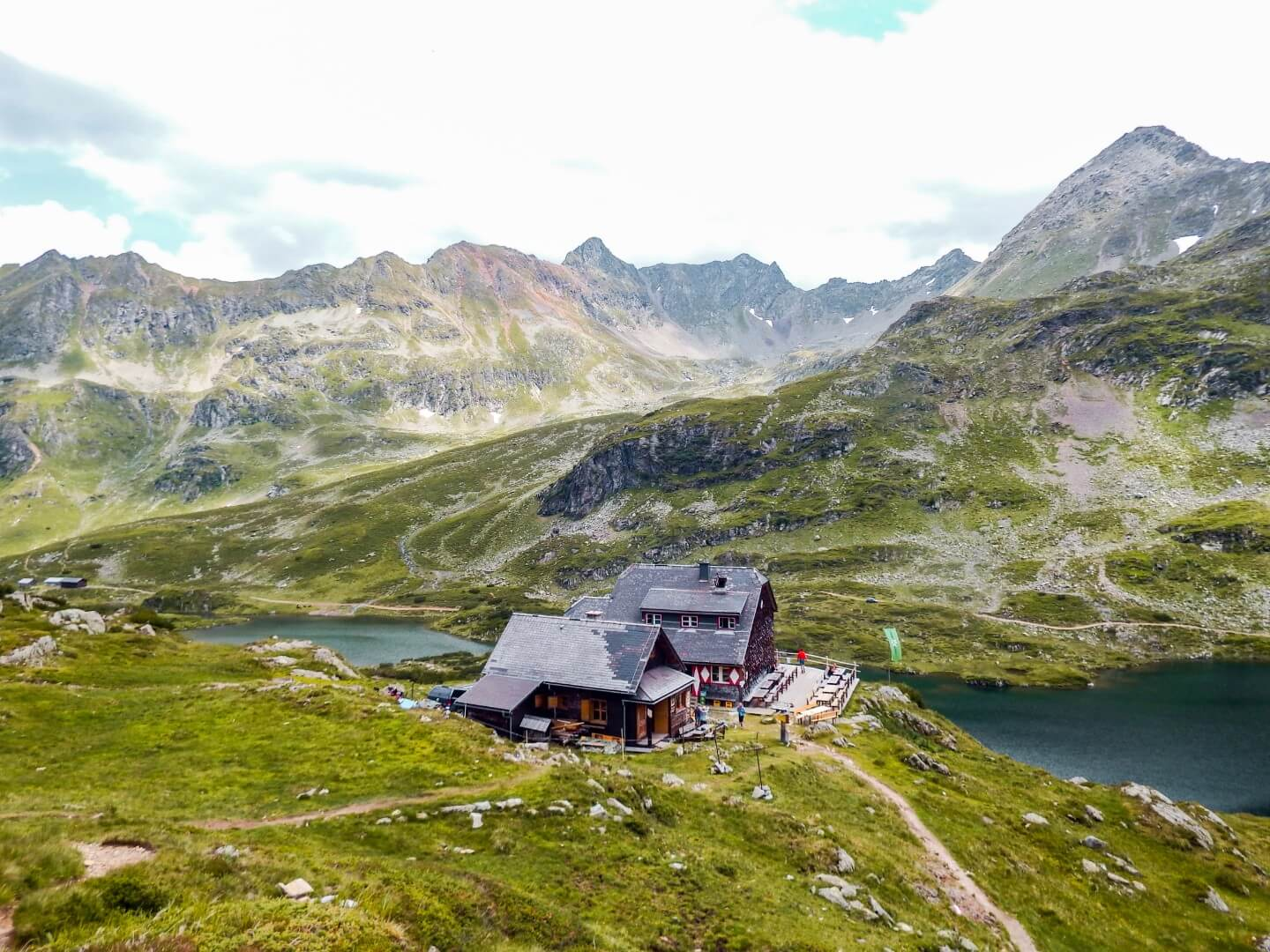 Ignaz-Mattis Hütte, Lower Giglach Lake, Schladminger Tauern, Austria - Best Day Hikes in Austria