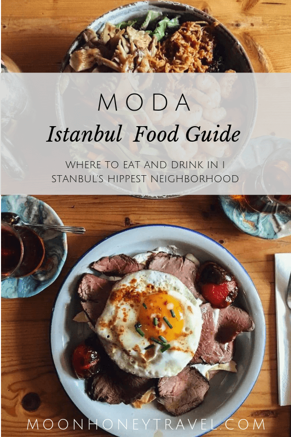 where to eat and drink in Kadikoy Moda, Istanbul