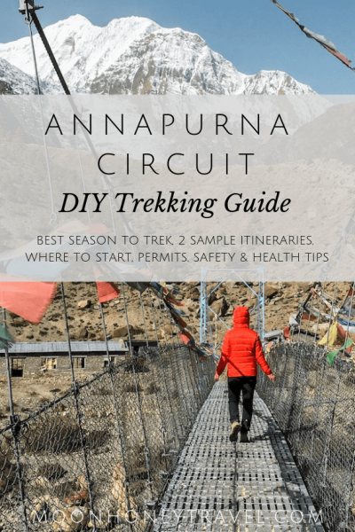 Annapurna Circuit Nepal Trek - DIY Trekking Guide for Independent Hikers