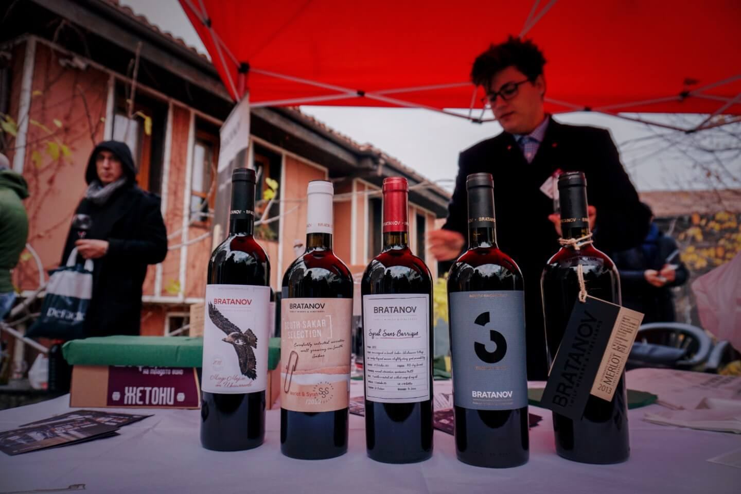 Bratanov wine tasting, Young Wine Festival, Plovdiv | 6 things we learned while wine tasting in Bulgaria