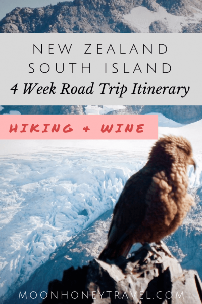 New Zealand South Island Road Trip Itinerary for Outdoor and Wine Lovers