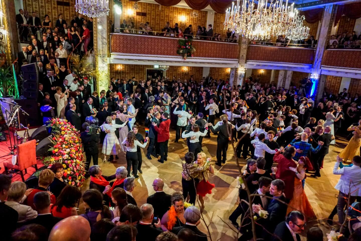 Vienna Rainbow Ball (Wiener Regenbogenball) - The most elegant LGBTQ event in Austria