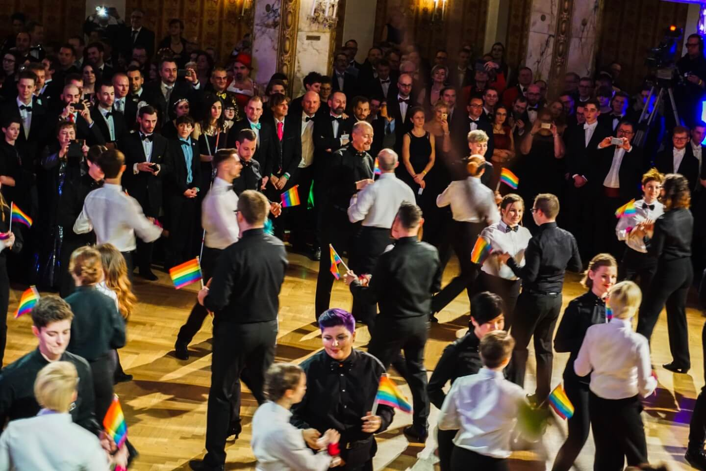 Viennese Ball Season - The LGBTQ Rainbow Ball in Vienna, Austria