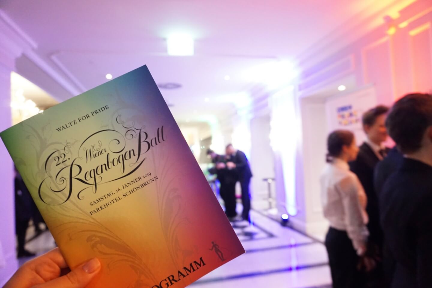 Vienna Rainbow Ball - Wiener Regebogenball Program - The most elegant LGBTQ event in Austria