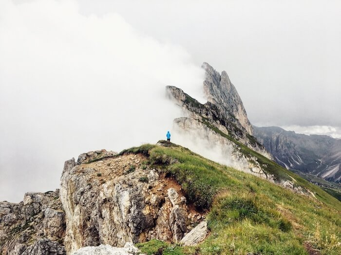 Hiking in the Dolomites, Italy, Hiking Destinations around the World | Moon & Honey Travel - the Hiking Blog for Travelers