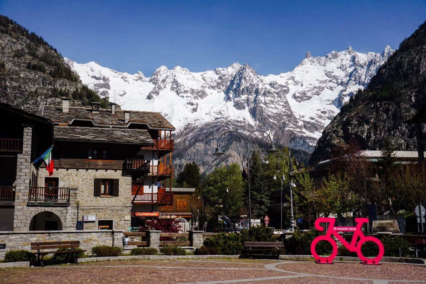 Courmayeur Town, Aosta Valley, Italy