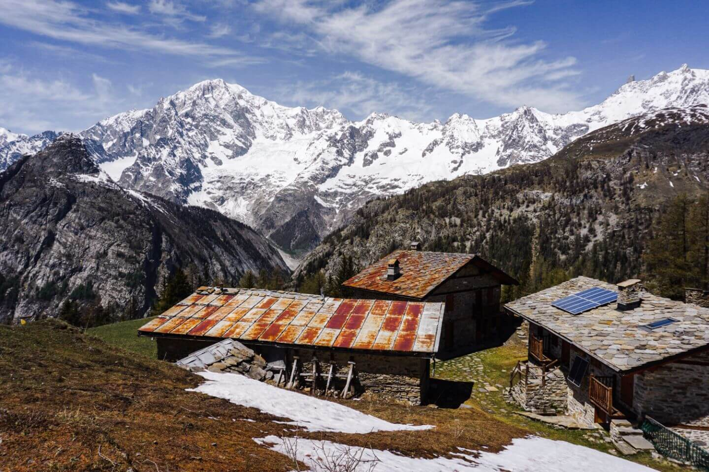 La Suche, Courmayeur Day Hike, Aosta Valley, Italy