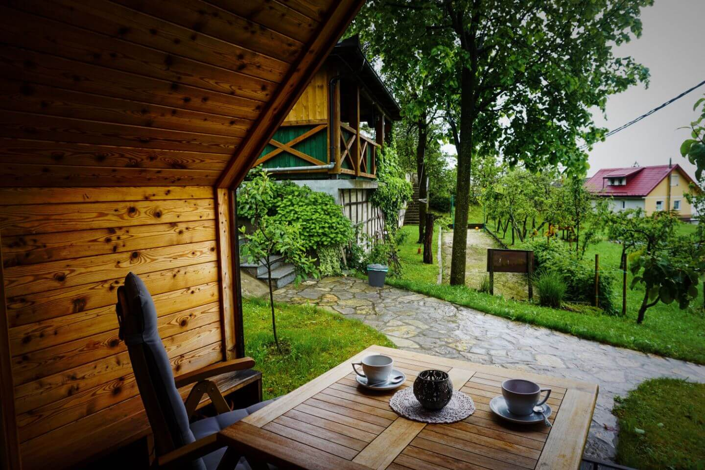 Glamping in Slovenia at Tourist Farm Kranjc,