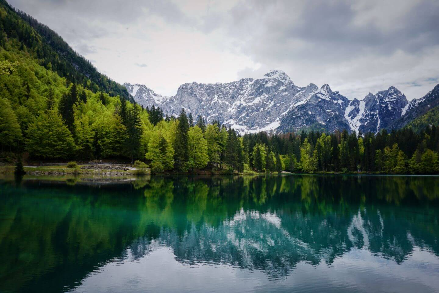 Lower Fusine Lake, Laghi di Fusine, Italy - How to visit the Fusine Lakes in Northern Italy