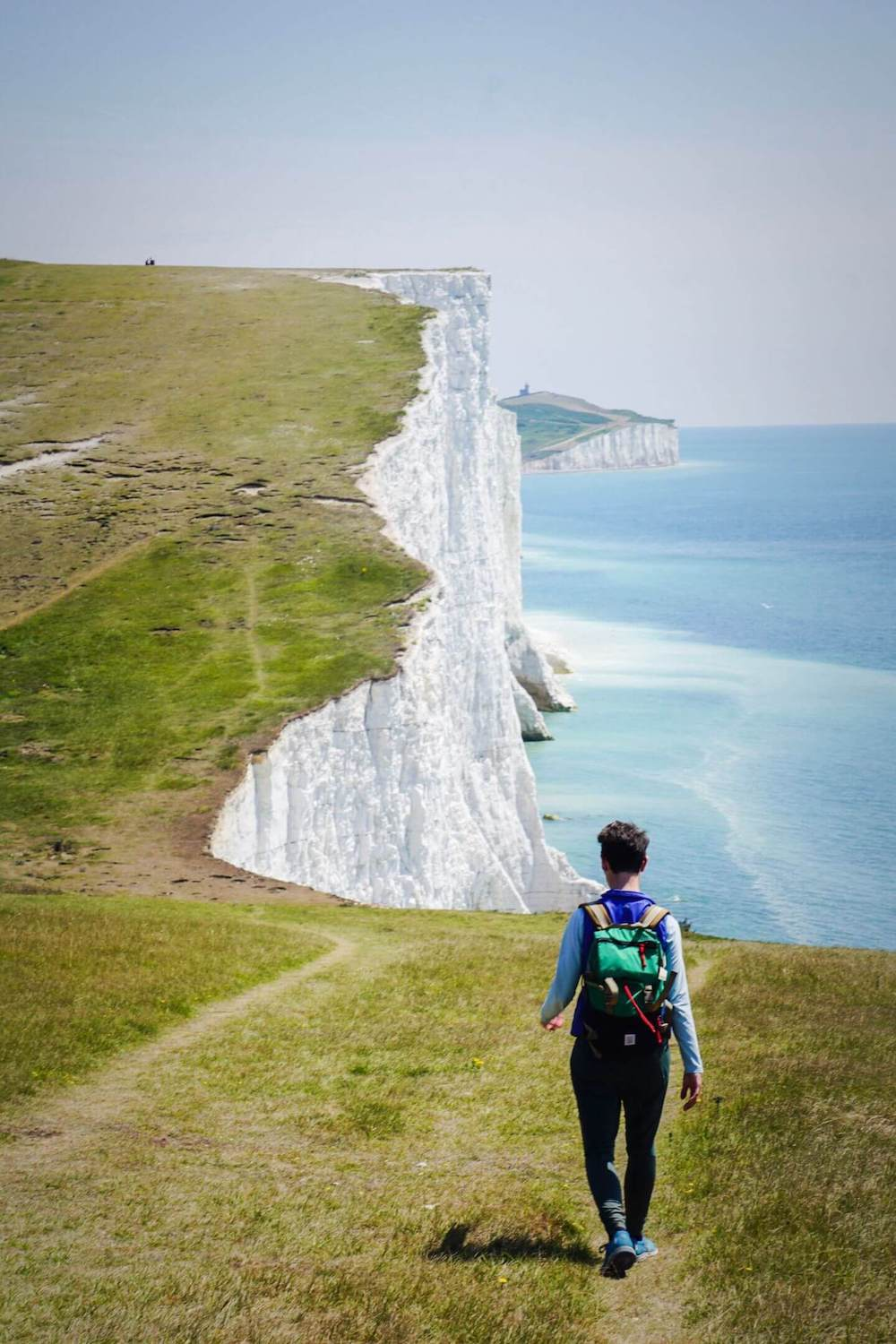Hiking the Seven Sisters Cliffs, England