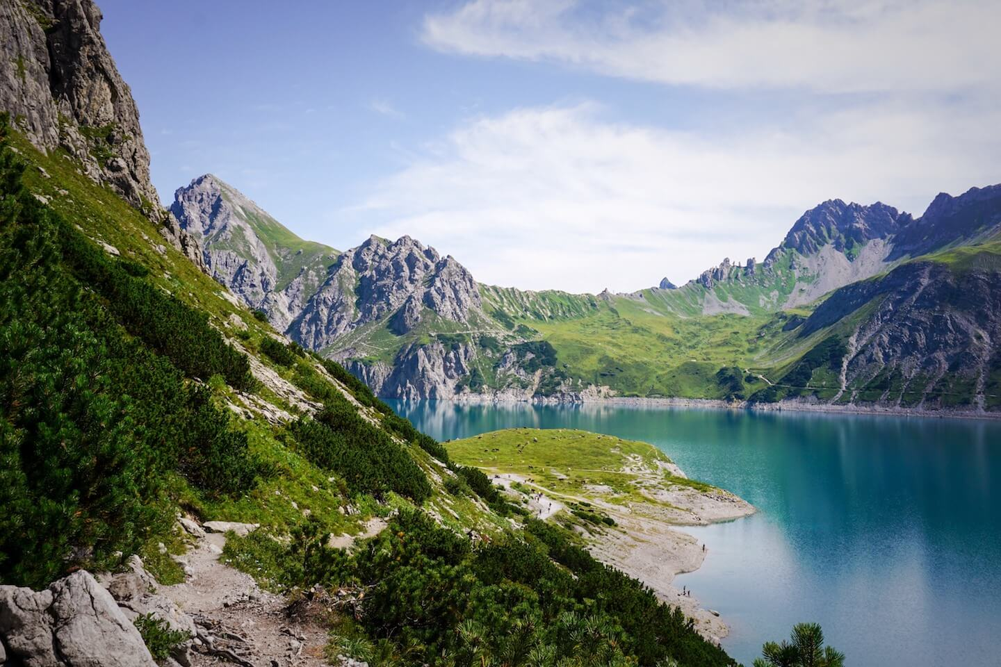 Lünersee Circuit Trail - Best Day Hikes in Austria