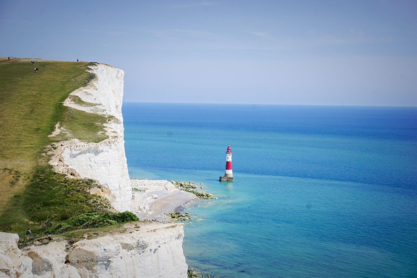 Beachy Head Lighthouse, Seaford to Eastbourne walk
