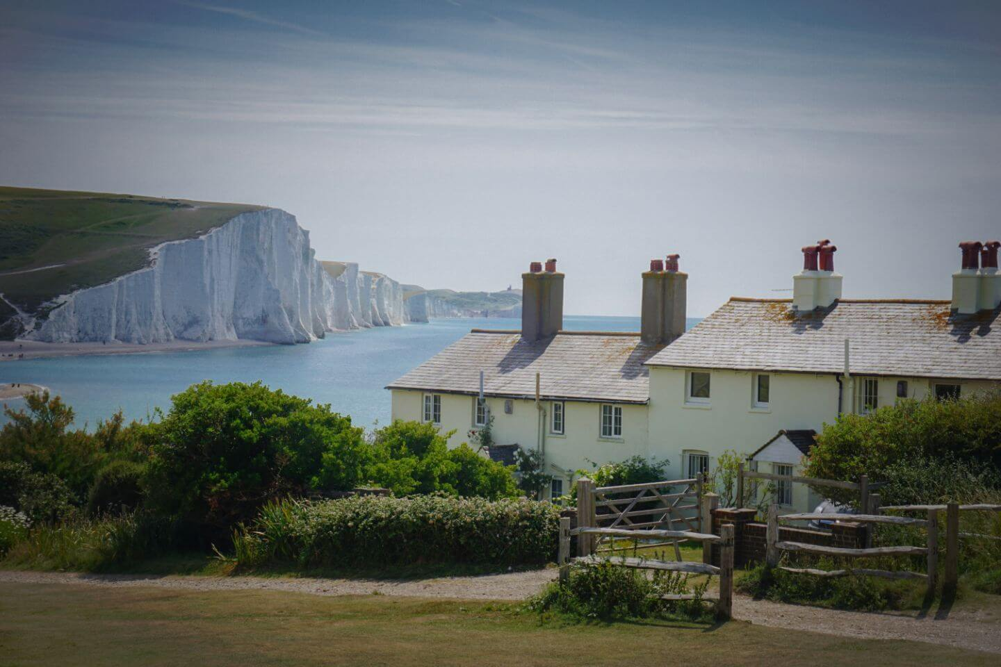 Coast Guard Cottages, Cuckmere Haven - Seven Sisters Cliffs Walk, England