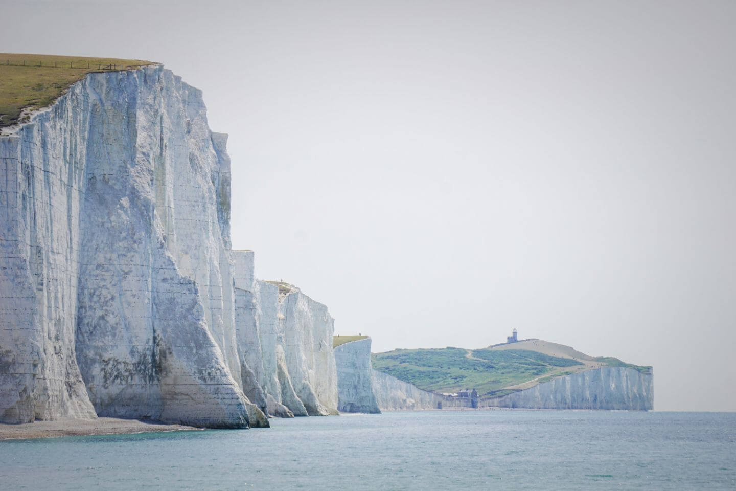 Seven Sisters Cliffs Walk - Seaford to Eastbourne, England
