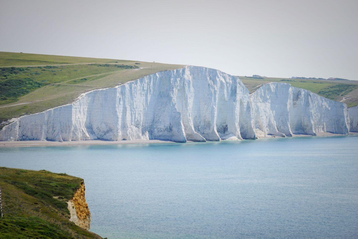 Seven Sisters Cliffs Walk - Seaford to Eastbourne Walk, England