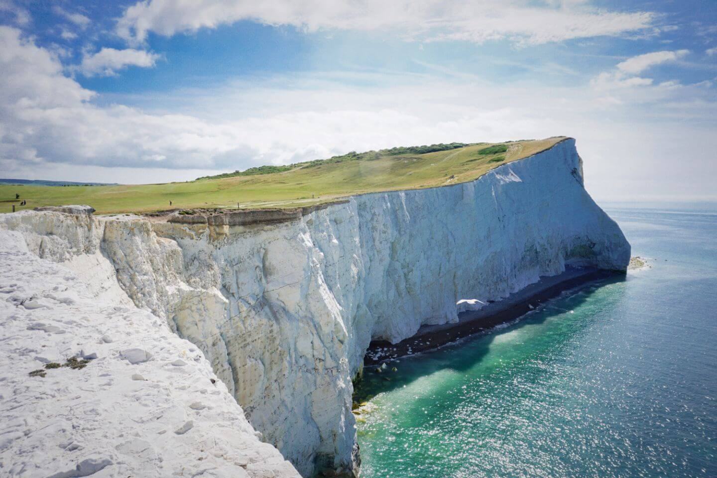 Seaford, East Sussex - Seven Sisters Walk Trailhead