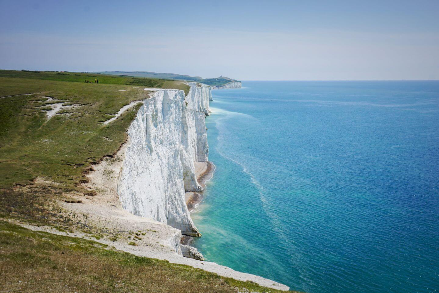 South Downs Way, Seven Sisters Cliffs Coastal Path - Hike Seaford to Eastbourne