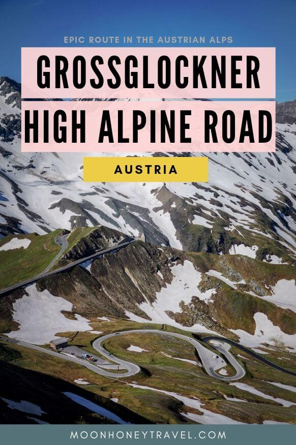 Grossglockner High Alpine Road in Hohe Tauern, Austrian Alps