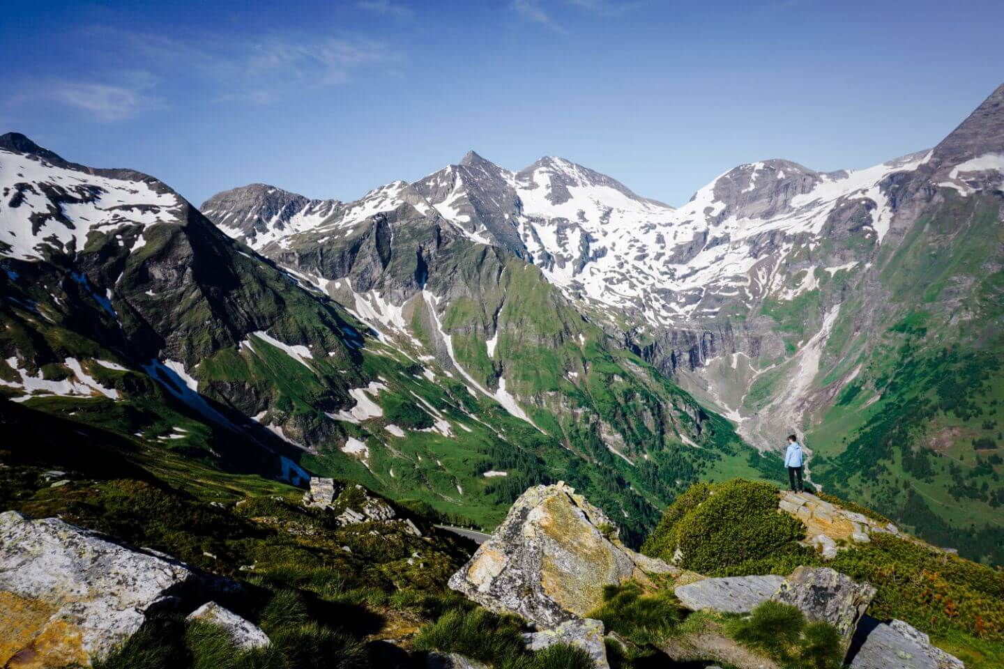 Grossglockner High Alpine Road in Hohe Tauern National Park, Austria