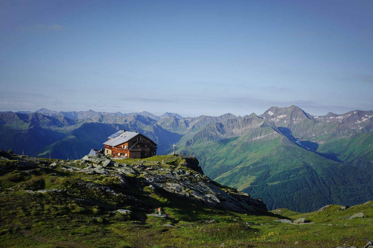 Bonn Matreier Hut, Venediger Group, Hohe Tauern, Osttirol - Venediger High Trail
