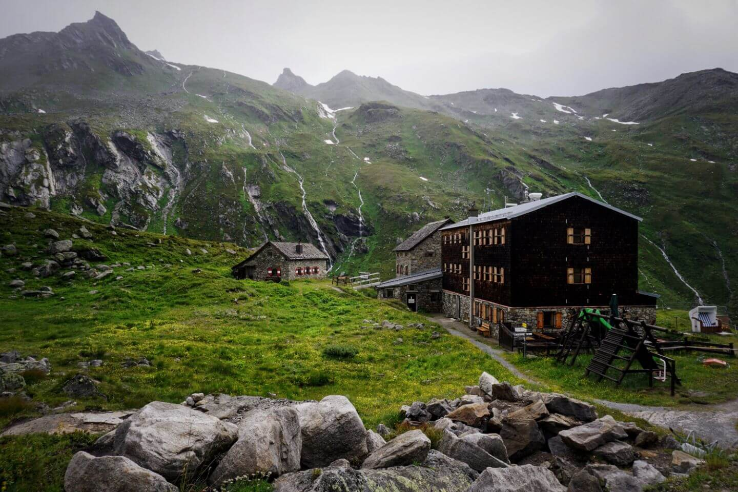 Essener Rostocker Mountain Hut - Venediger High Trail, Austria
