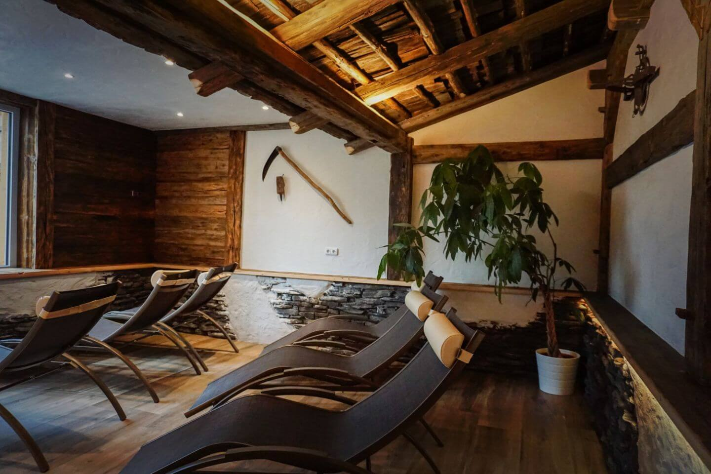 Relaxation Room in Matreier Tauernhaus - Secret Escape in the Austrian Alps