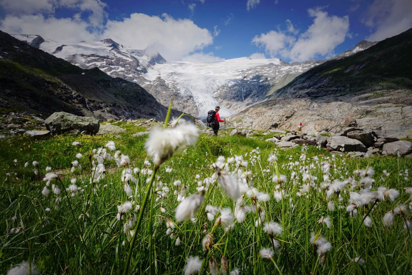 Venediger High Trail, East Tyrol, Hohe Tauern National Park, Austria