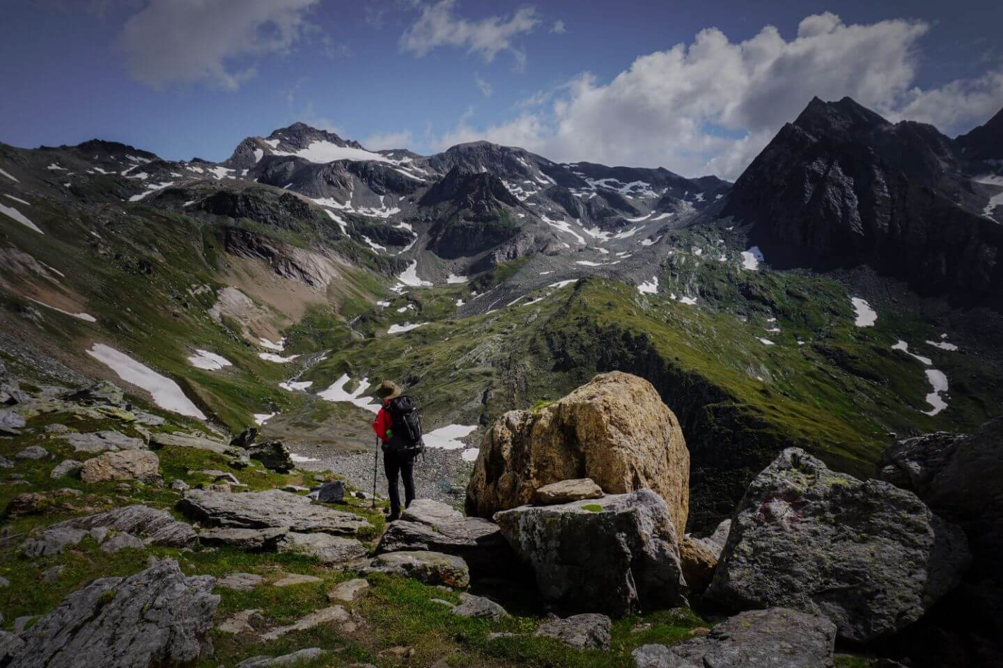 Hike to Eissee hut, Venediger High Trail, Austrian Alps Trek