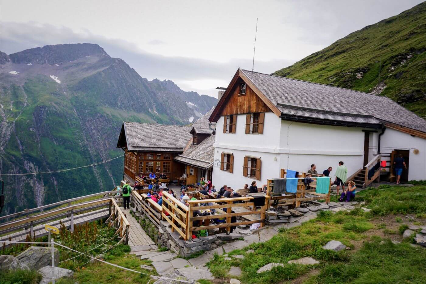 Furtschaglhaus, Berliner High Trail mountain hut, Zillertal, Austria
