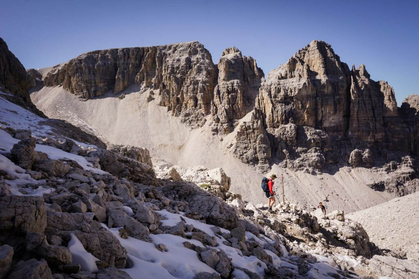 Piz Pisciadù, Sella Group - Best Hikes in Val Gardena, Dolomites, Italy