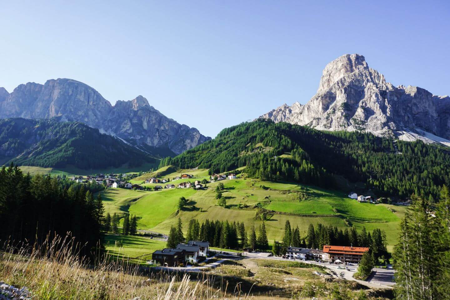 Corvara, Alta Badia - Where to Stay in the Dolomites in Summer