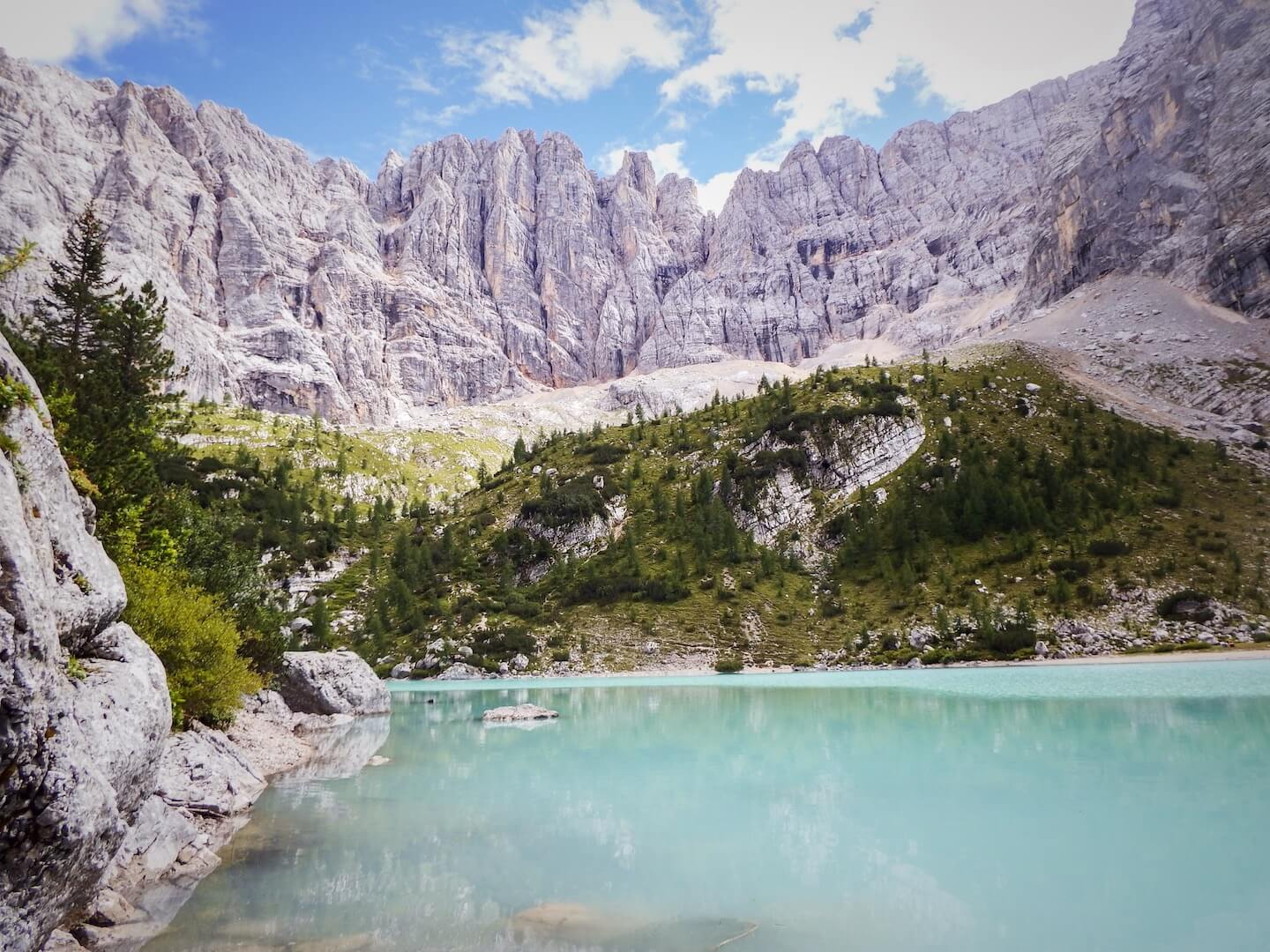 Best Dolomites Hiking Trails - Lago di Sorapis